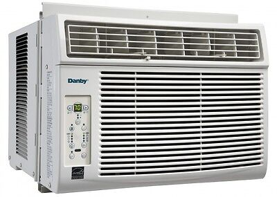 Danby 6000 BTU Window Air Conditioner w/ Remote Control 4Way Directional Cooling