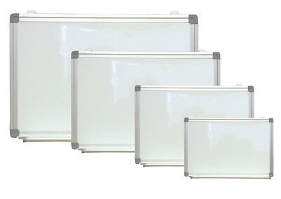 Magnetic Dry Erase Board 18x 24 Aluminum Framed White Wall Pen Tray
