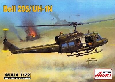 BELL 205 (HUEY)/UH 1 N 'SPECIAL OPERATIONS' (US ARMY MKGS) #90006 1/72 AEROPLAST for sale  Poland