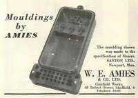 1953 We Amies Gatefield Works Sheffield Mouldings Ad -  - ebay.co.uk