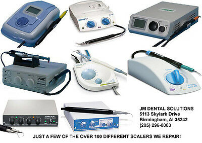 Dentsply Cavitron Ultrasonic Dental Scaler Prophy Jet Repair Estimates -