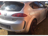 Seat Leon MK2 K1 Grey Rear Bootlid & Spoiler Complete with inner lights £140