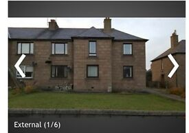 Spacious 3 bedroom upper flat, unfurnished. For rent