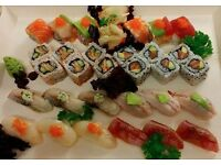 Sushi Chef £25-27K (£10-14/hour) needed