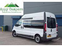 2012 Vauxhall Vivaro CDTi LWB Camper van conversion ONLY 27800 MILES vito trafic T5 Primastar