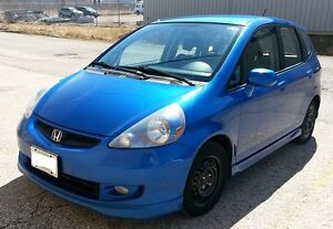 2007 Honda Fit Sport 5 Speed - 2 sets of tires/rims