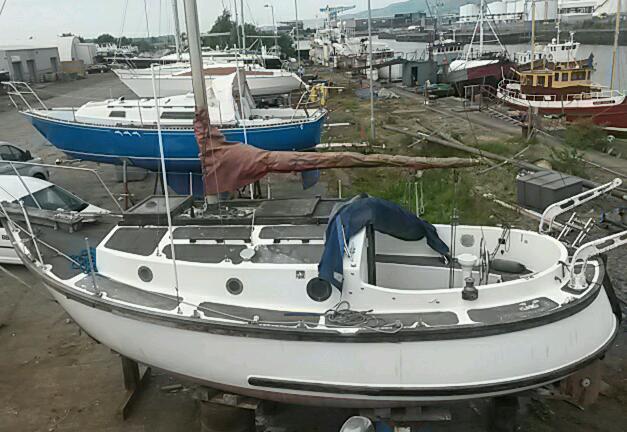 Ip24 Motor Sailer Boat Yacht In Clydebank West