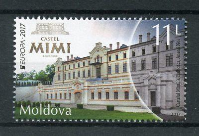 Moldova 2017 MNH Castel MIMI Castles Europa 1v Set Architecture Stamps