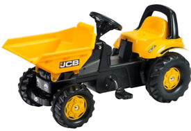 Jcb childrens ride on digger