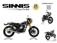 PRE-REG SINNIS BOMBER 125 £2199 AND NEW LEXMOTO TEMPEST 125 £2299 MUST BE SEEN CLASSIC LOOKING BIKE