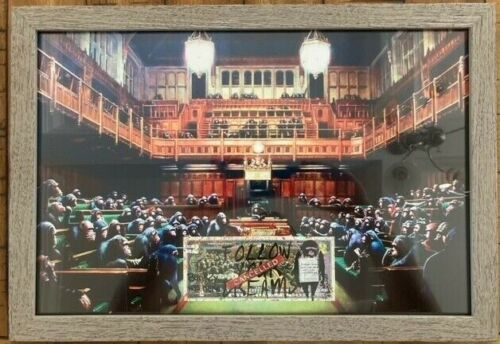 Banksy and Rency Parliament
