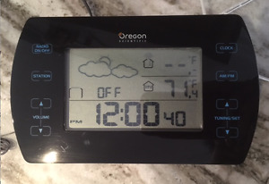 CHECK OUT THIS GREAT WEATHER STATION/RADIO/CLOCK!!