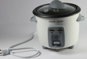 Black&Decker 3-Cup Rice cooker model RC3406C