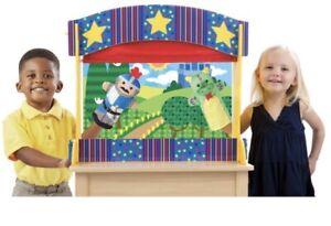 Theatre de Marionette sur table en bois Melissa and Doug