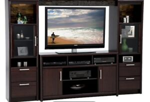 Entertainment Centre TV Stand Expresso