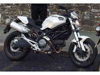Ducati Monster 696 - White