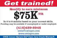 SECOND CAREER - FREE FUNDING - AMPLE JOBS