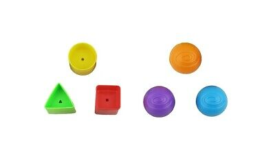 NEW ~ Fisher Price Laugh & Learn Crawl Around Car Replacement Balls Shapes Parts