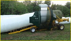 AM Machinery Bale Wrappers