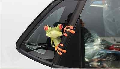Auto Sticker Frosch Aufkleber Autoaufkleber Sicherheit Reflektierend 3D