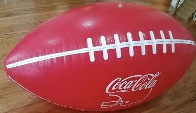 Jumbo 3' Foot Coca Cola Football Large Inflatable Coke Tailgating NIP/Free Ship!