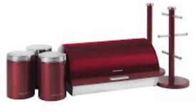 Morphy Richards accents red kitchenware