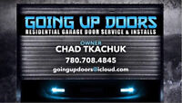 GARAGE DOORS, SPRINGS & MOTORS SERVICE, INSTALLS & SALES