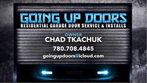 Same day Garage door & opener sales service and installs.  Edmonton Edmonton Area image 1