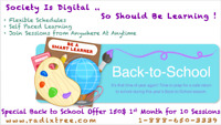 Affordable Online Tutoring of Math and French Available At Home.