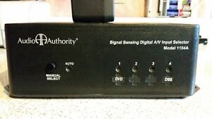 Audio Authority 4:1 Component Video Selector