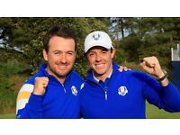 WANTED GOLF RYDER CUP COVERAGE FULL DAY BROADCAST IF POSSIBLE