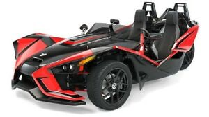 2019 Polaris SLINGSHOT SLR RED PEARL / 89$/sem
