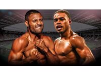 Kell Brook vs Errol Spence Fight Tickets - Many Tickets Available - FACE VALUE - CHEAPEST ONLINE
