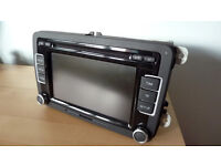 Genuine VW RCD 510 AUDIO SYSTEM - 6 CD AUTO CHANGER/TOUCHSCREEN