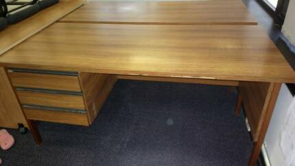 3 matching ex-government desks. With free chair** Highvale Brisbane North West Preview