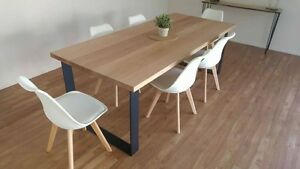 MONARCH DINING TABLE SQUARE CORNERED LOOP LEGS Sandringham Bayside Area Preview