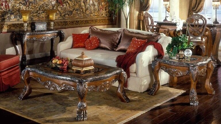 New Antique Reproduction Coffee Table Sets