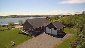 Magnificent Waterview Home in Beautiful St. Peters Bay PEI