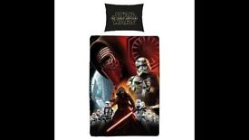 Star Wars The Force Awakens Single Duvet Set: Brand New