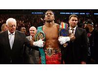 MATCHROOM BOXING: Anthony Joshua vs Wladimir Klitschko Boxing