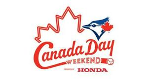 Canada Day Weekend: Blue Jays vs. Royals – June 29….200's, Row 1