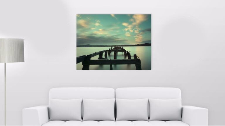Beautiful 30x40 inches Canvas Print of Fahan Pier