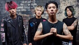ONE OK ROCK Tickets x 2 (Manchester Academy 2, Tuesday 12th December 2017, 7.30PM)