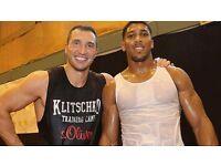 Anthony Joshua Vs Klitschko Tickets X2