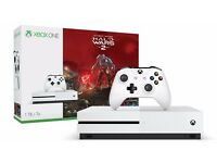 One S 1TB Console - Halo Wars 2 Bundle - Released Only yesterday - Brand New!