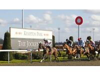 HALF PRICE! Kempton Park Race Day Tickets for 7th April