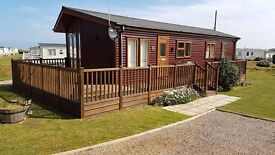 Lodge For Sale in North Norfolk near Sheringham on Cliff Top Location with Beach Access