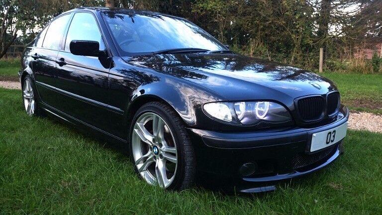 BMW 330i M Sport manual metallic black
