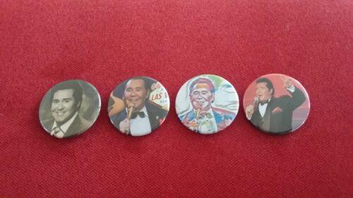 "Mr. Las Vegas Wayne Newton 4 x 1.75"" fridge magnets"