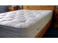 4FT6 DOUBLE ORTHO 2000 POCKET EXTRA FIRM MATTRESS, AS NEW CONDITION